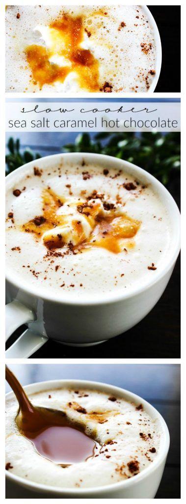Wedding - Slow Cooker Salted Caramel Hot Chocolate