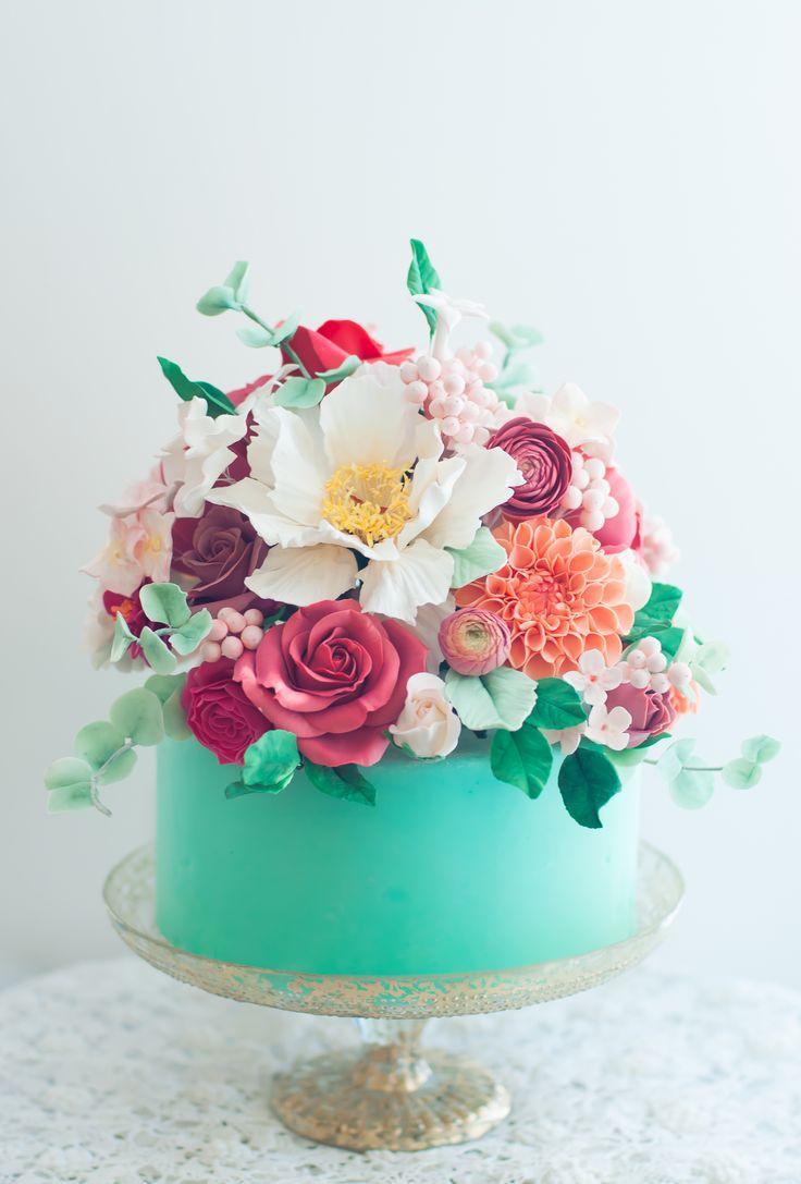 Kuchen Beautiful Floral Cakes 2713297 Weddbook