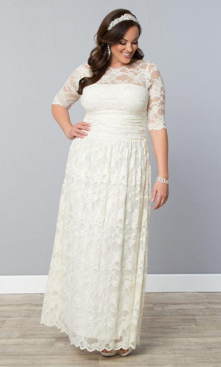Wedding - 12 Gorgeous Plus-size Wedding Dresses —all Under $500
