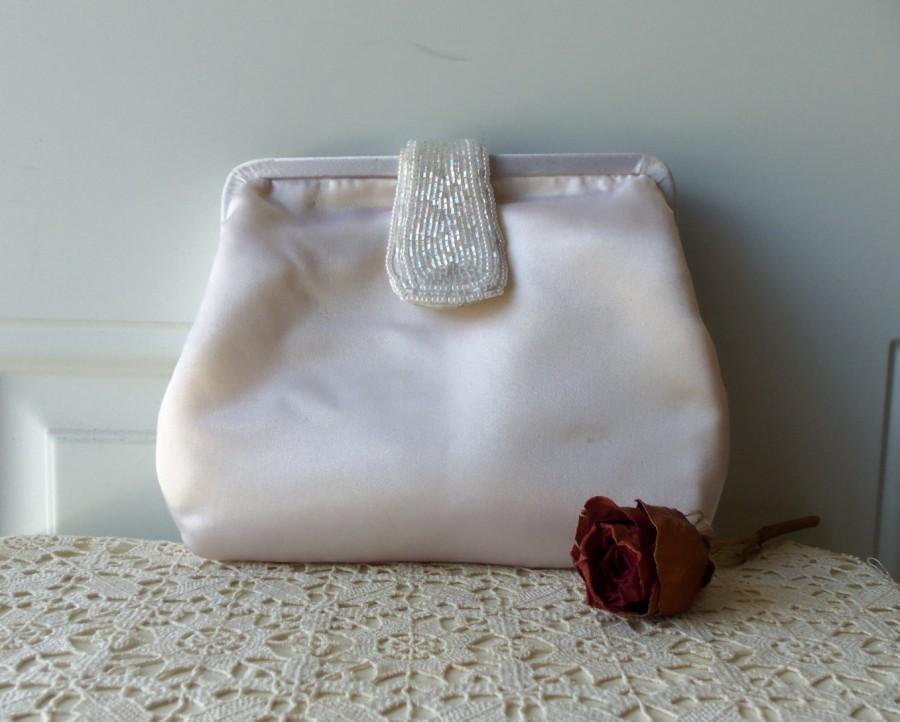 Hochzeit - Wedding Purse - Bride, Rehearsal Dinner, Honeymoon, Destination Wedding, Designer, Handmade, Collectible, Gift Idea:   BBD-900