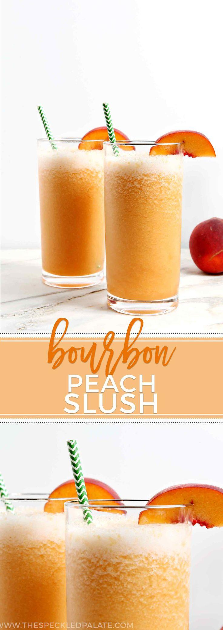 Wedding - Bourbon Peach Slush