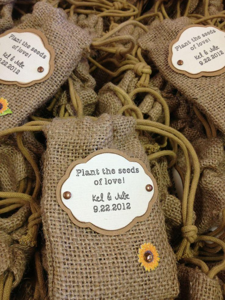 Measure Once Cut Twice Sunflower Themed Wedding Favors 2713442
