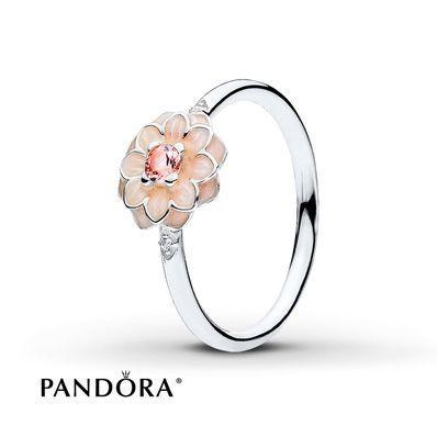 Hochzeit - PANDORA Ring Blooming Dahlia Sterling Silver
