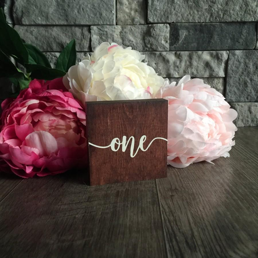 Wooden Table Numbers Wedding Decor Table Numbers Wedding Table