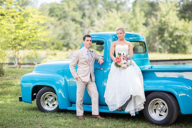 Hochzeit - Colorful And Sweet Florida Wedding
