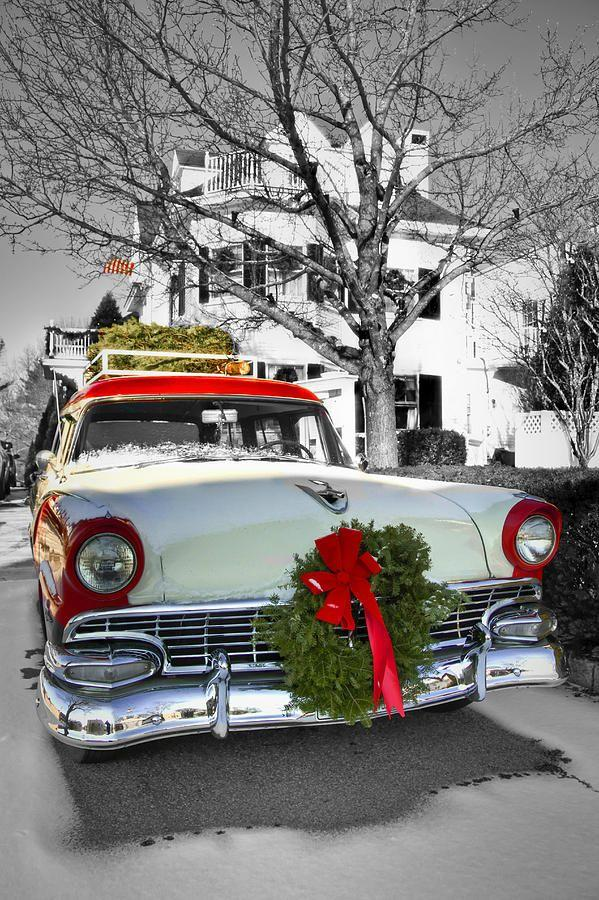 Wedding - Home For The Holidays (Print) By Brenda Giasson