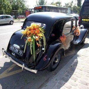 Mariage - Bouquets-Fleurs-Livraison - Traction Avant 2