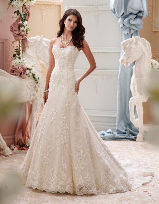 Свадьба - David Tutera - Indiana - 115245 - All Dressed Up, Bridal Gown