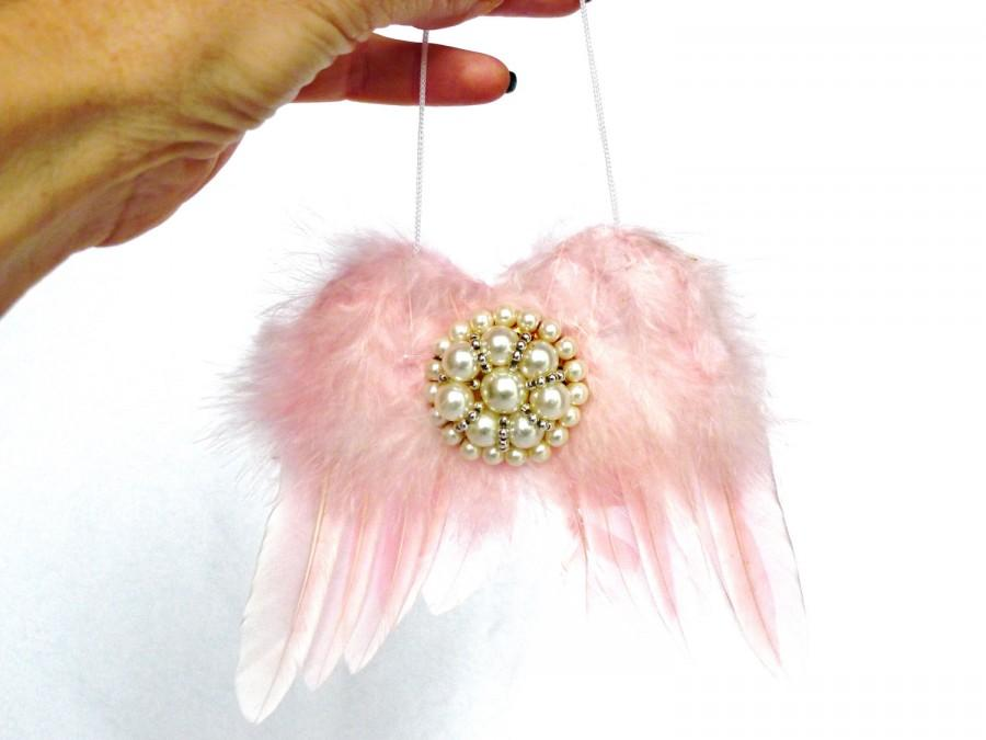 Angel Wings Shabby Chic Wall Decor Angel Wings Pink Wall Decor Boho ...