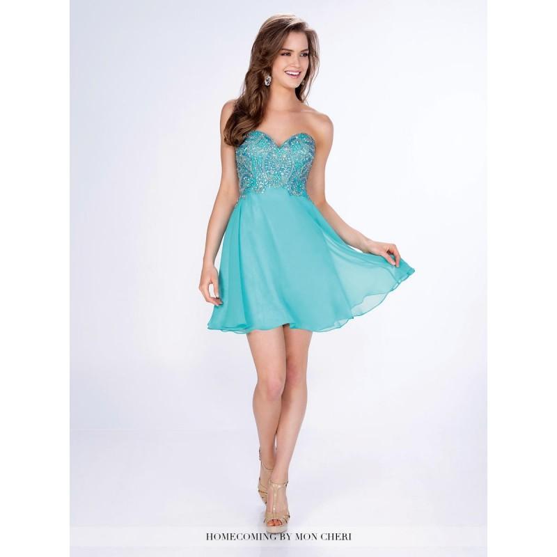 زفاف - Turquoise Shorts by Mon Cheri MCS21668 Shorts by Mon Cheri - Top Design Dress Online Shop