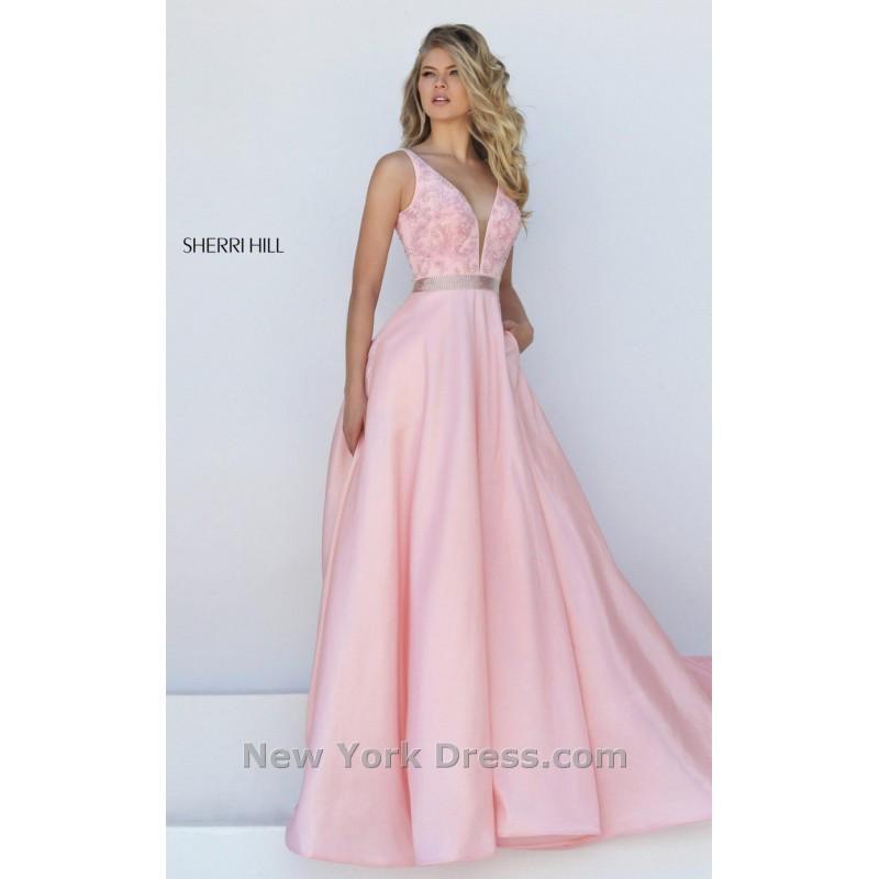 Mariage - Sherri Hill 50233 - Charming Wedding Party Dresses