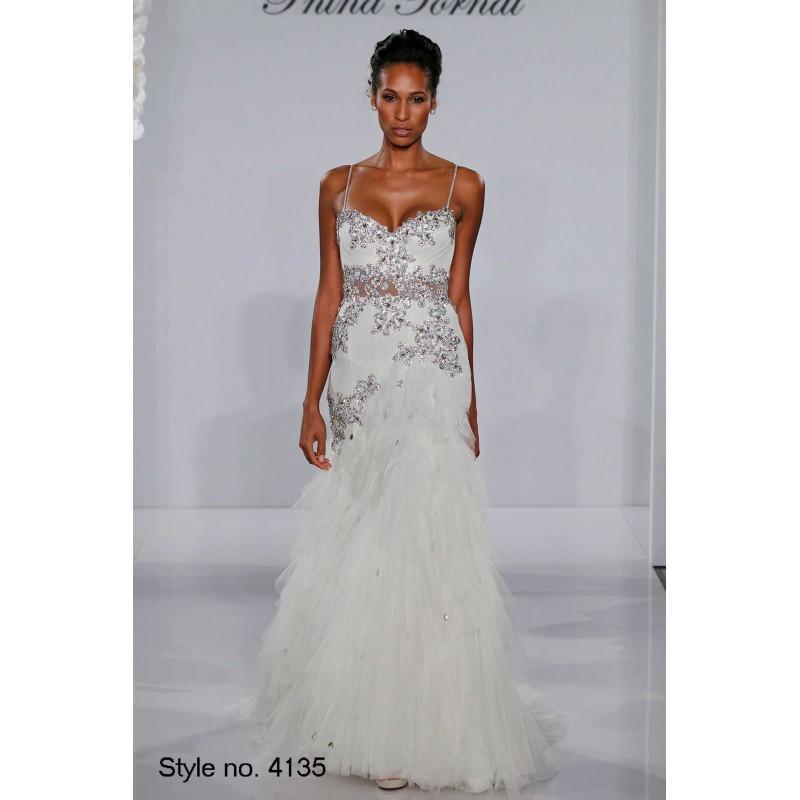 pnina tornai 2012 style 4135 designer wedding dresses