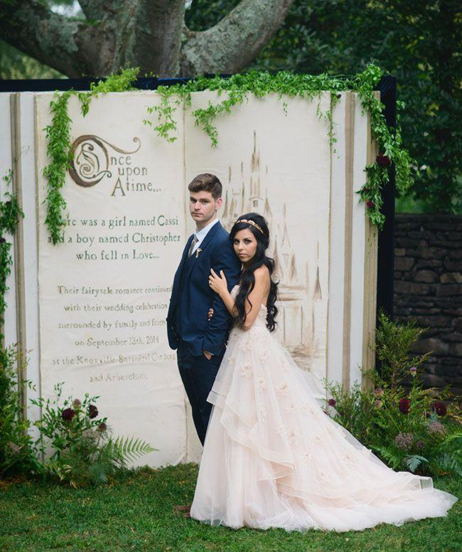 زفاف - Fairytale-Inspired Wedding: Cassi   Chris – Part 1