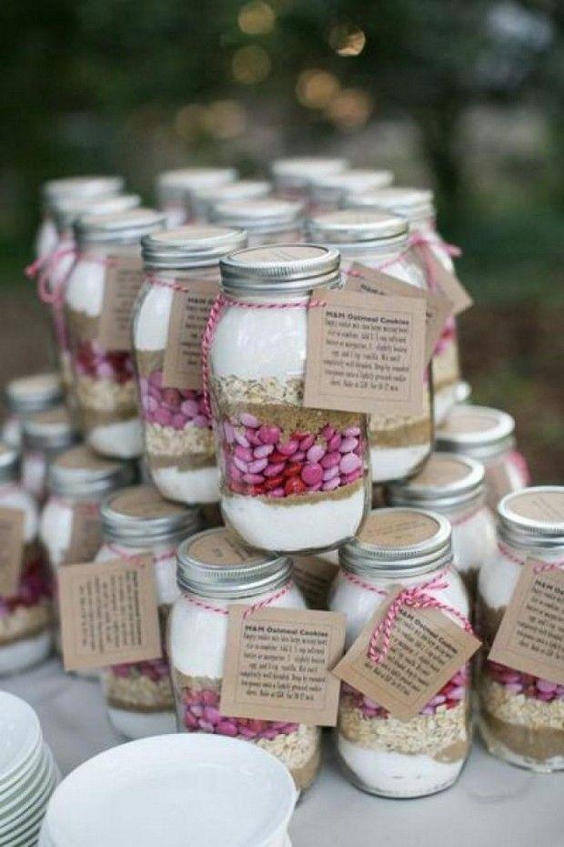 Hochzeit - 16 Masterful Mason Jar Wedding Ideas