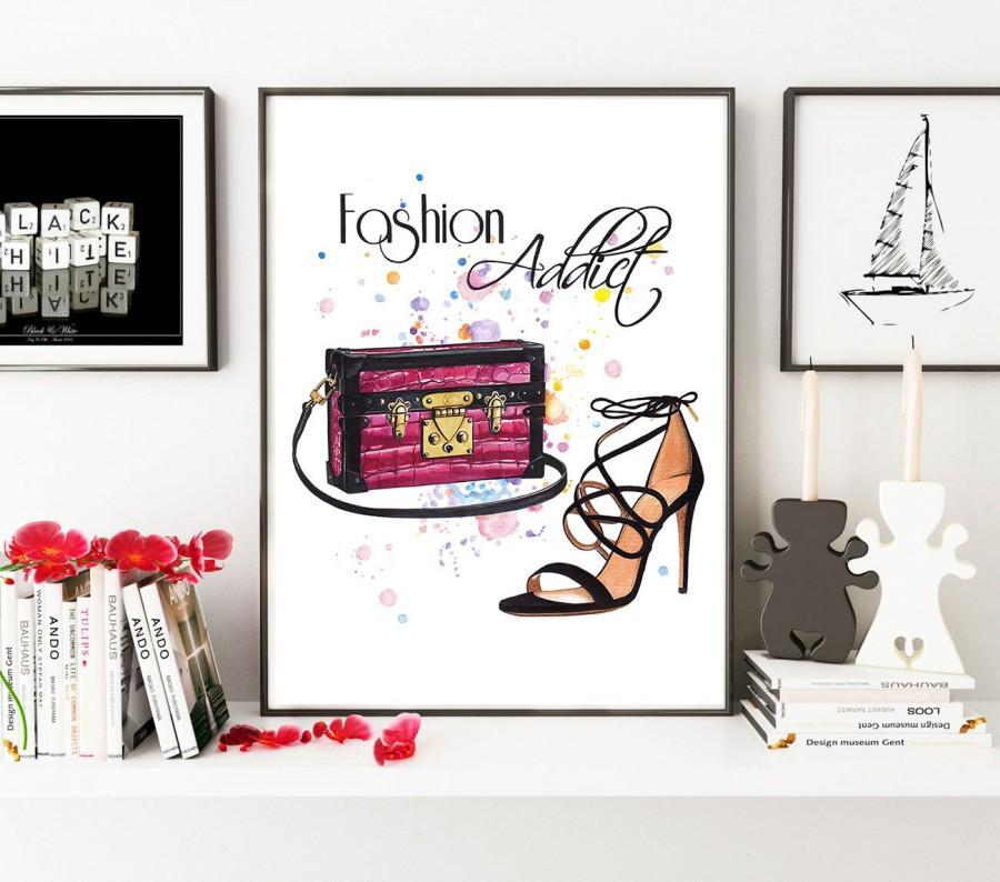 Свадьба - Fashion Painting, Fashion drawing, Fashion illustration, Fashion artwork, shoes illustration, bag illustration, Louis Vuitton art