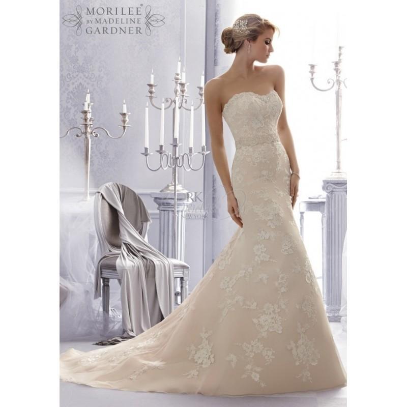 Wedding - Mori Lee Bridal Fall 2014 - Style 2676 - Elegant Wedding Dresses