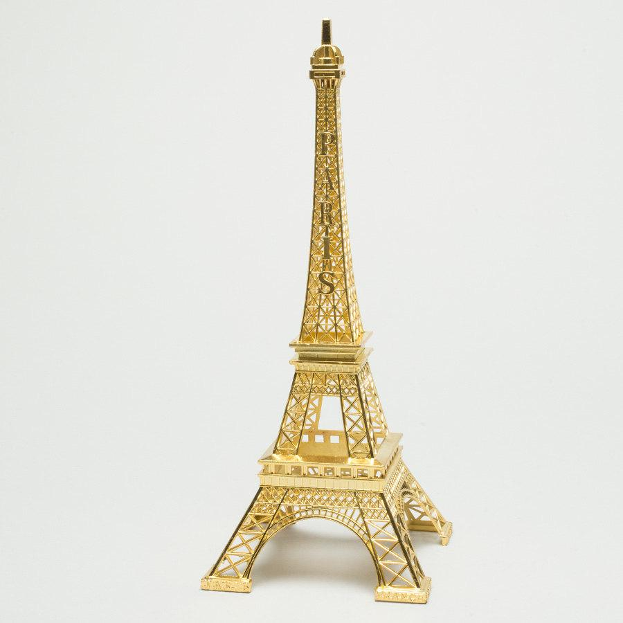 Decor - Metallic Gold Eiffel Tower Centerpiece #2714868 - Weddbook
