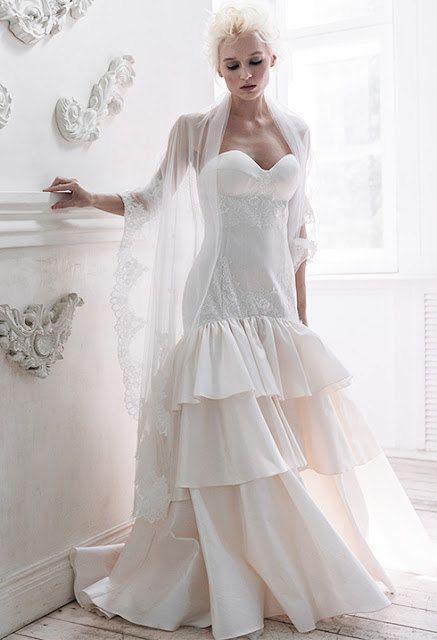 زفاف - Nephthys / Low Back Wedding Dress Alternative Wedding Dress Unique Wedding Dress Mermaid Wedding Dress Silk Wedding Dress Backless Wedding