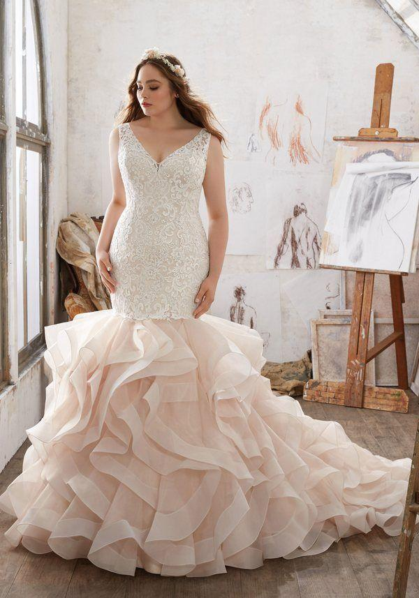 Hochzeit - Mori Lee – Julietta Plus Size Wedding Dresses