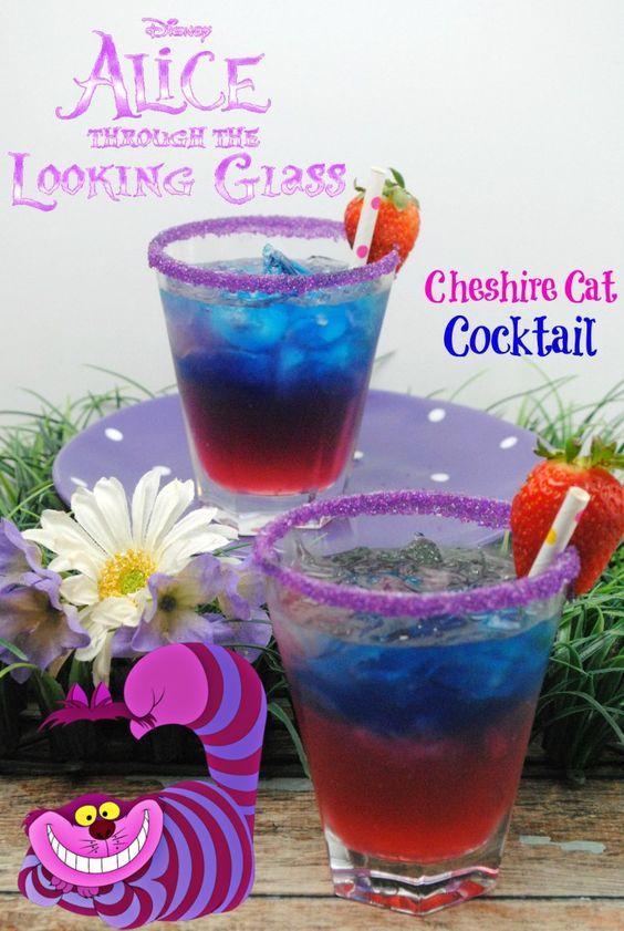 Hochzeit - Cheshire Cat Inspired Cocktail