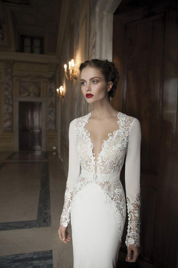 Hochzeit - Long Sleeved Wedding Dresses – 20 Graceful Styles For 2015 Brides