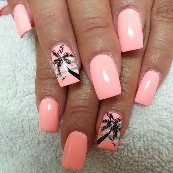 Hochzeit - Top 10 Lovely Summer Nail Art Ideas