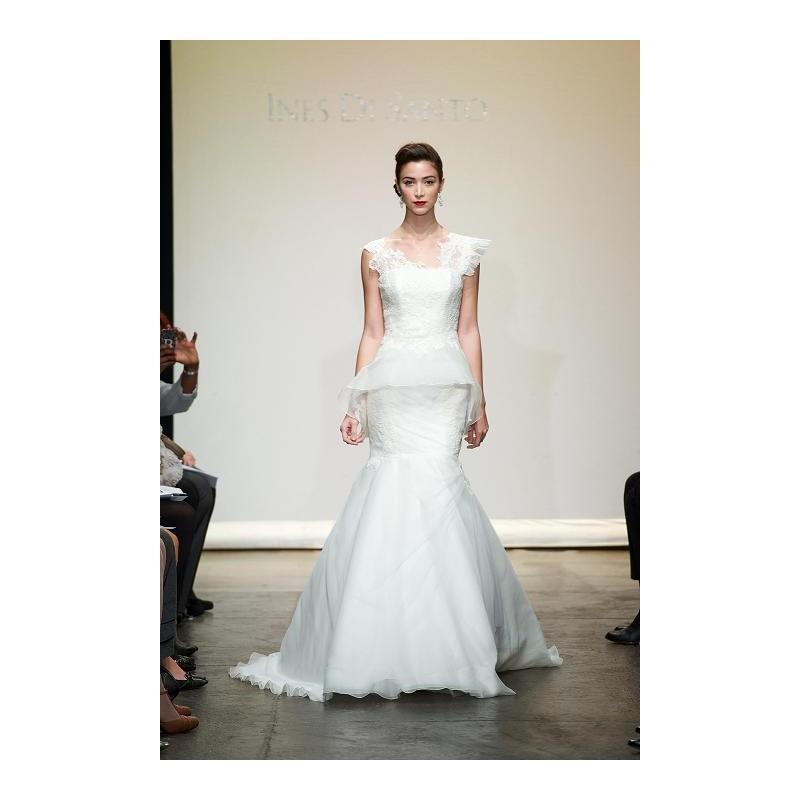Wedding - Ines Di Santo Rialto - Burgundy Evening Dresses