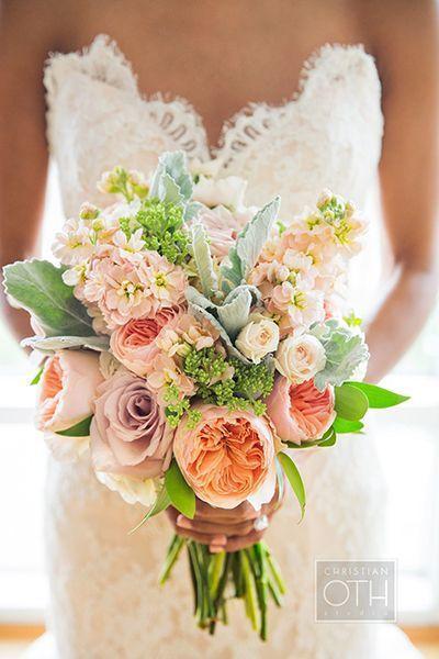 Hochzeit - Garden-Gorgeous Wedding Bouquets