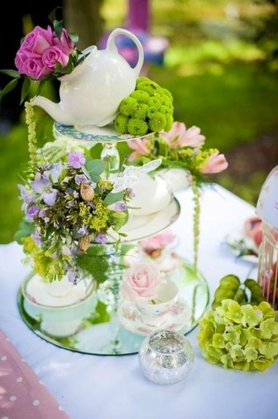 Wedding Theme 25 Lovely Tea Party Bridal Shower Ideas 2715517
