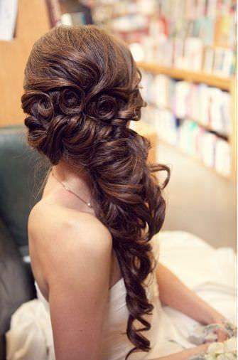 Свадьба - 4 Perm Bridal Hairstyles That You Can Try Right Too