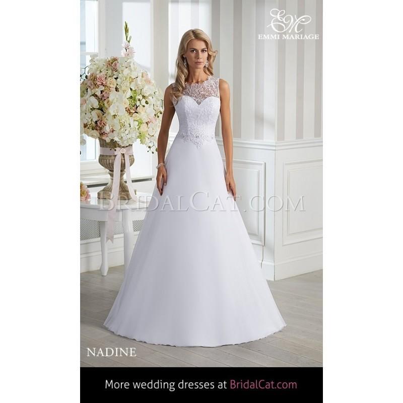 Hochzeit - Emmi Mariage 2015 Nadine - Fantastische Brautkleider