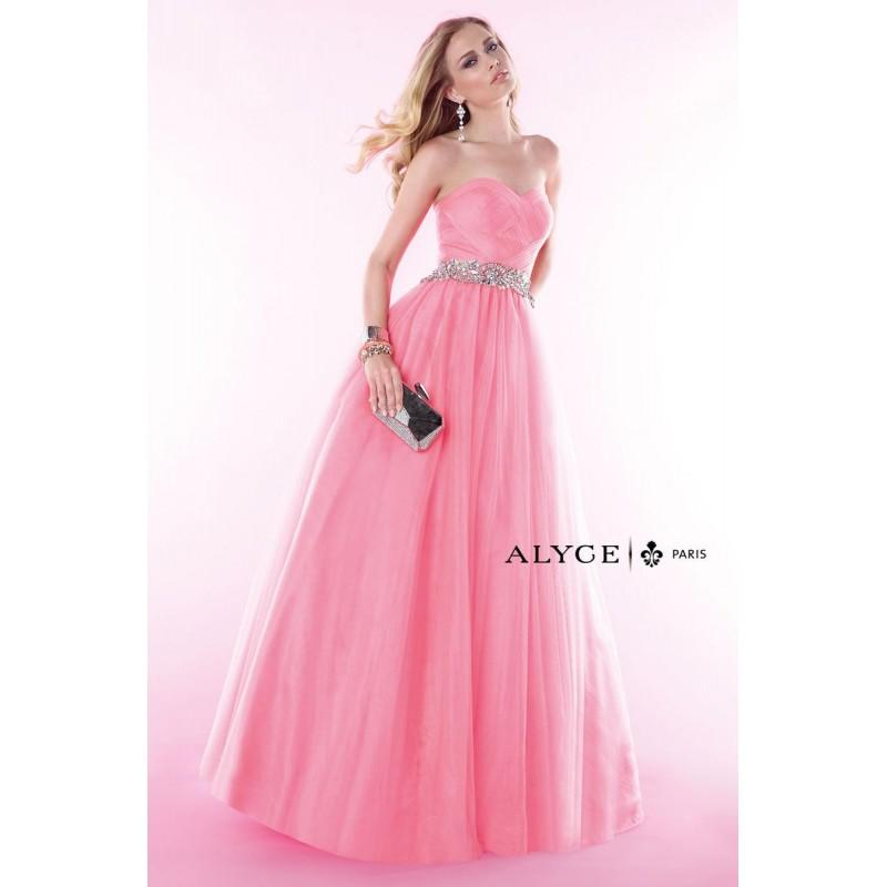 Wedding - New Coral Alyce Prom 6388 Alyce Paris Prom - Rich Your Wedding Day