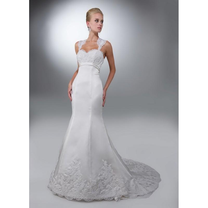 Wedding - Da Vinci 50083 Bridal Gown (2012) (DV12_50083BG) - Crazy Sale Formal Dresses