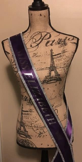 Свадьба - Custom Made Sash Any Title Any Clipart
