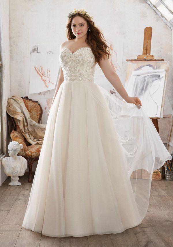 f1f3f22e7f98e Mori Lee – Julietta Plus Size Wedding Dresses  2716106 - Weddbook