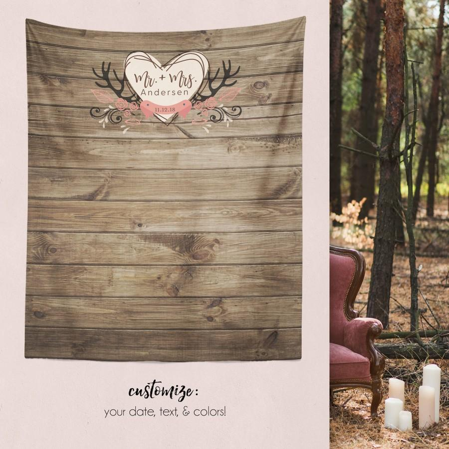 Свадьба - Rustic Wedding Backdrop, Wedding Backdrop, Rustic Wedding Decor Decorations, Engagement Party Decorations, Shower Decorations / W-A03-TP AA3