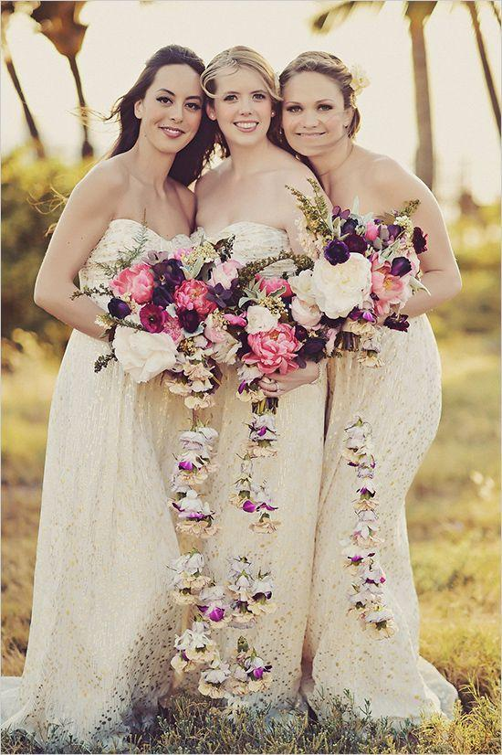 Hochzeit - Boho Chic Wedding In Hawaii
