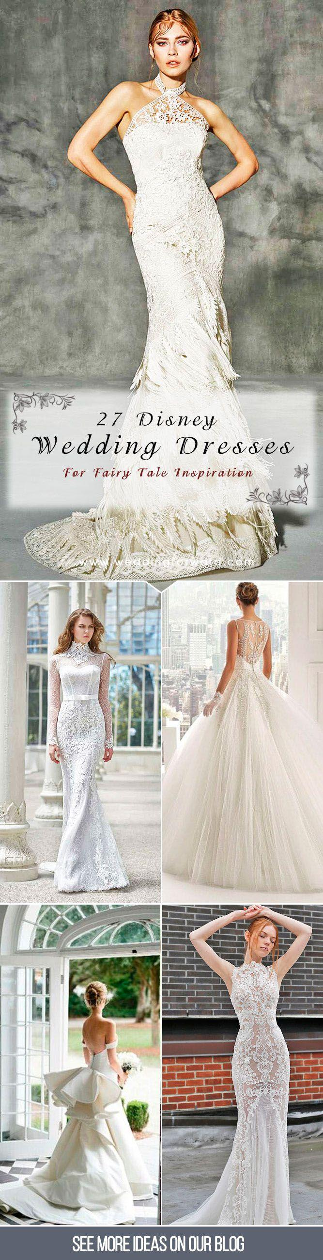 Mariage - 27 Disney Wedding Dresses For Fairy Tale Inspiration