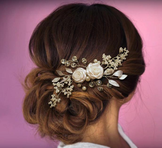 Свадьба - Wedding hair piece, Wedding hair comb, Pearl Hair Comb, Bridal Hair Comb, Bridal Hair Piece, Pearl Hair Accessory, Wedding Hair Piece