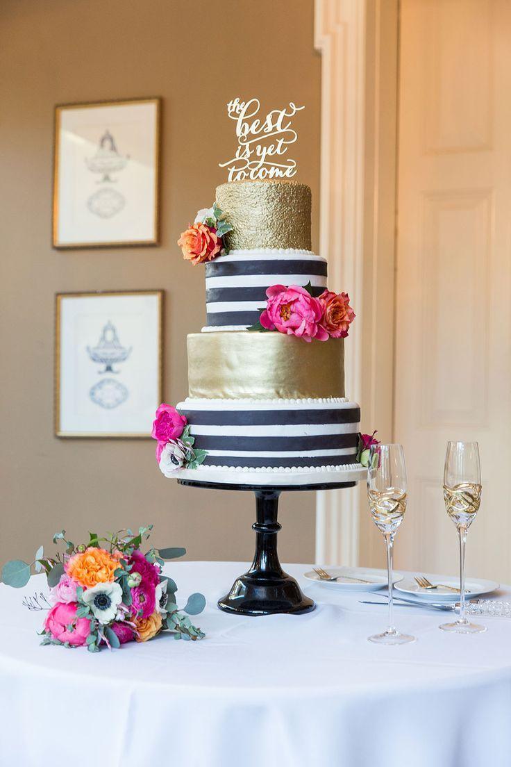 Wedding Theme Whimsical Black White Striped Wedding 2716653