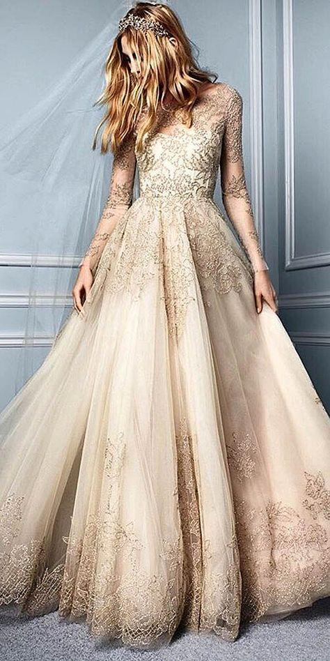 Wedding - 27 Ball Gown Wedding Dresses Fit For A Queen