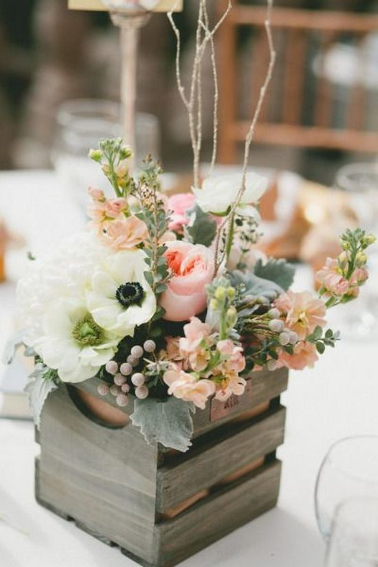 100 Country Rustic Wedding Centerpiece Ideas 2716857