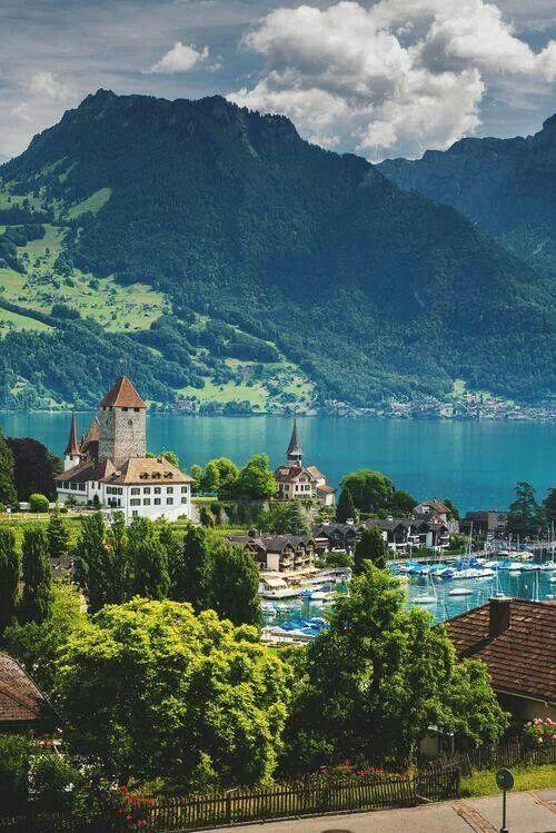 Свадьба - Lake Thun, Switzerland (THE BEST TRAVEL PHOTOS)