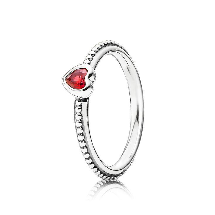 Mariage - Delicate Heart Ring