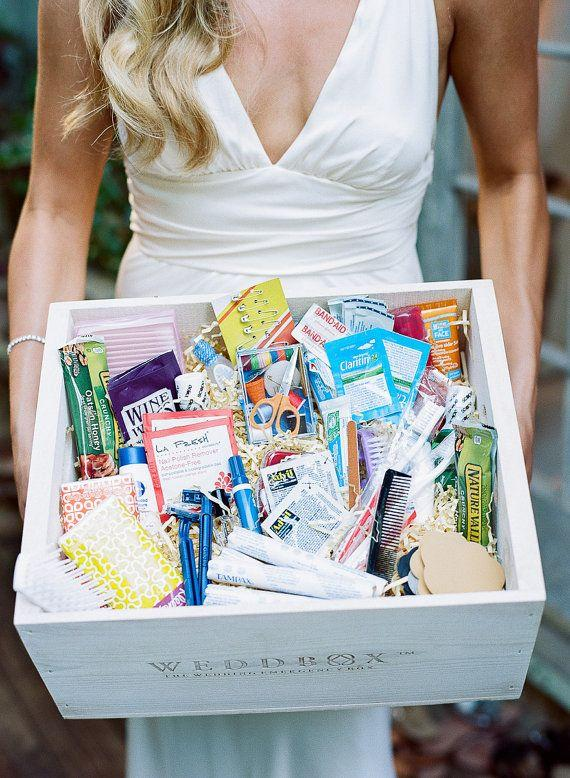 Wedding Survival Kit For The Bride Bridesmaids Guests