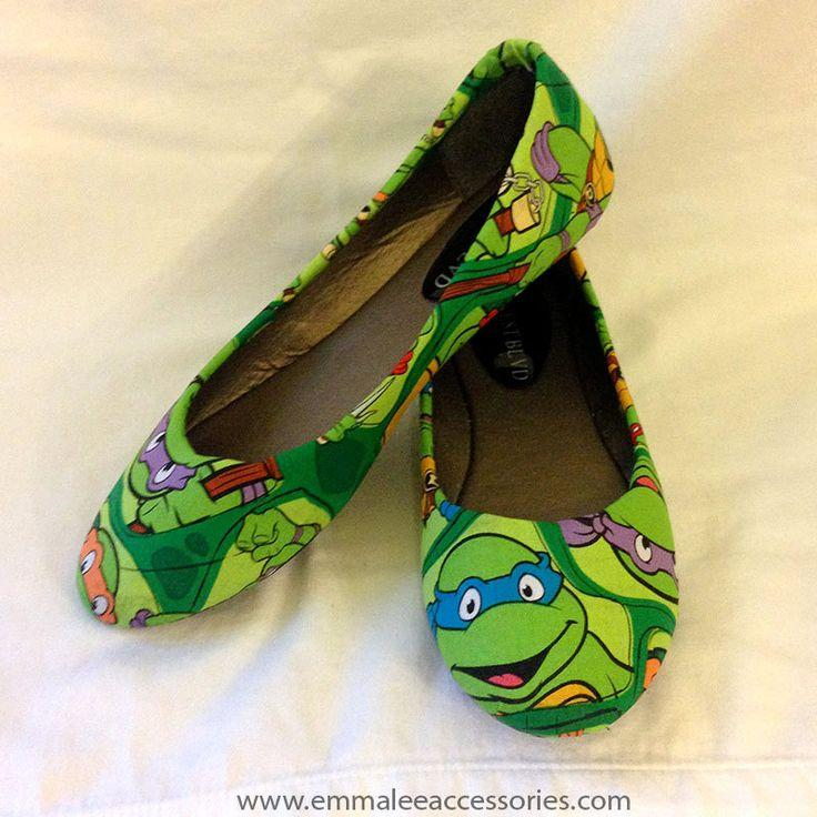 Hochzeit - Teenage Mutant Ninja Turtle Flats