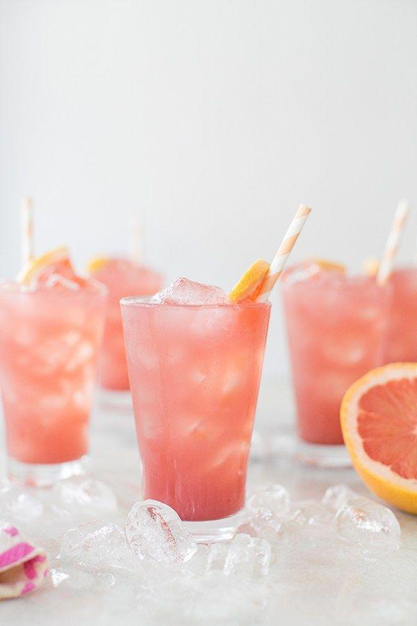 Wedding - Sparkling Grapefruit Bikini Cocktail