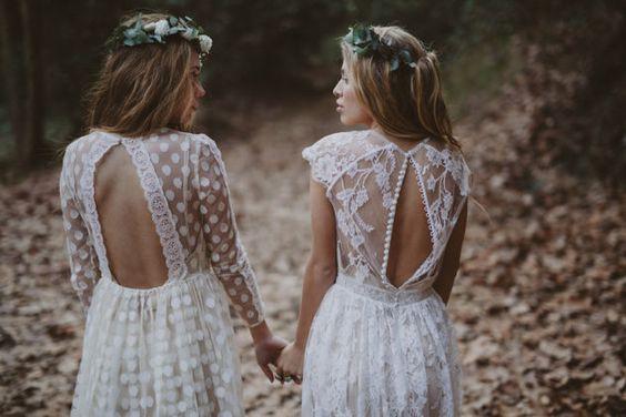 Hochzeit - Immaclé Barcelona Wedding Dress Collection