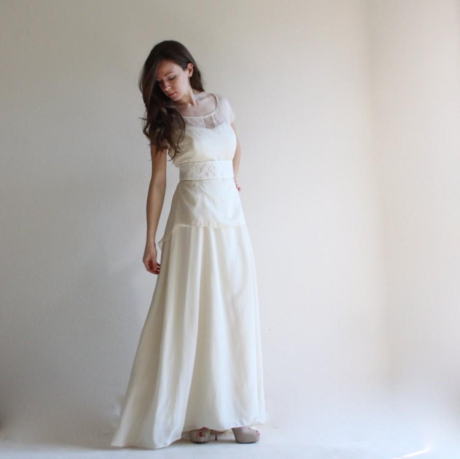 Wedding Dress, Two Piece Wedding Dress, Bridal Separates, Bridal ...