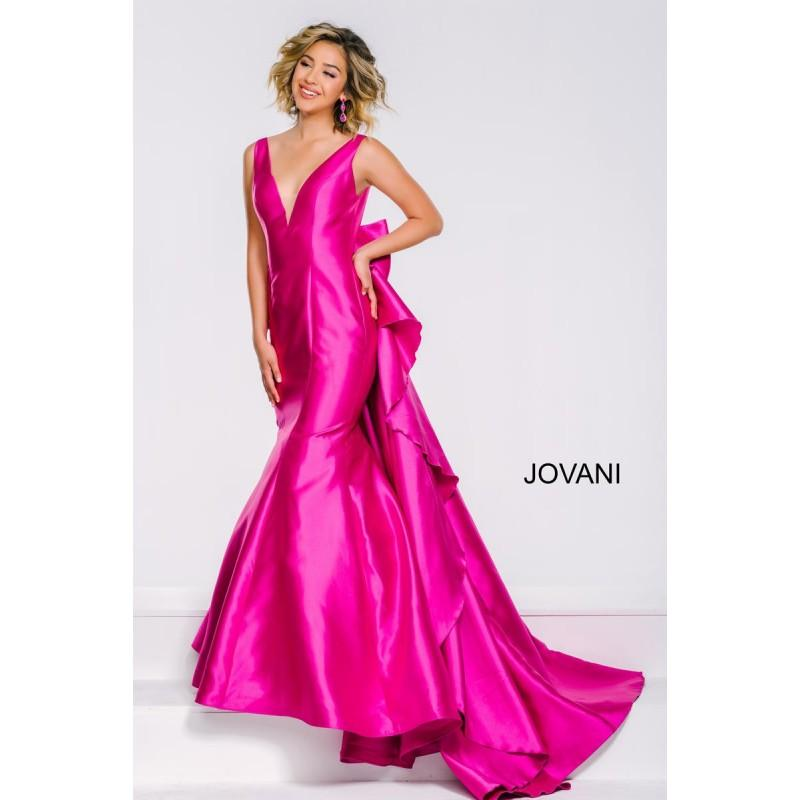 Mariage - Fuchsia Sugarplum Jovani Prom 41644 Jovani Prom - Top Design Dress Online Shop